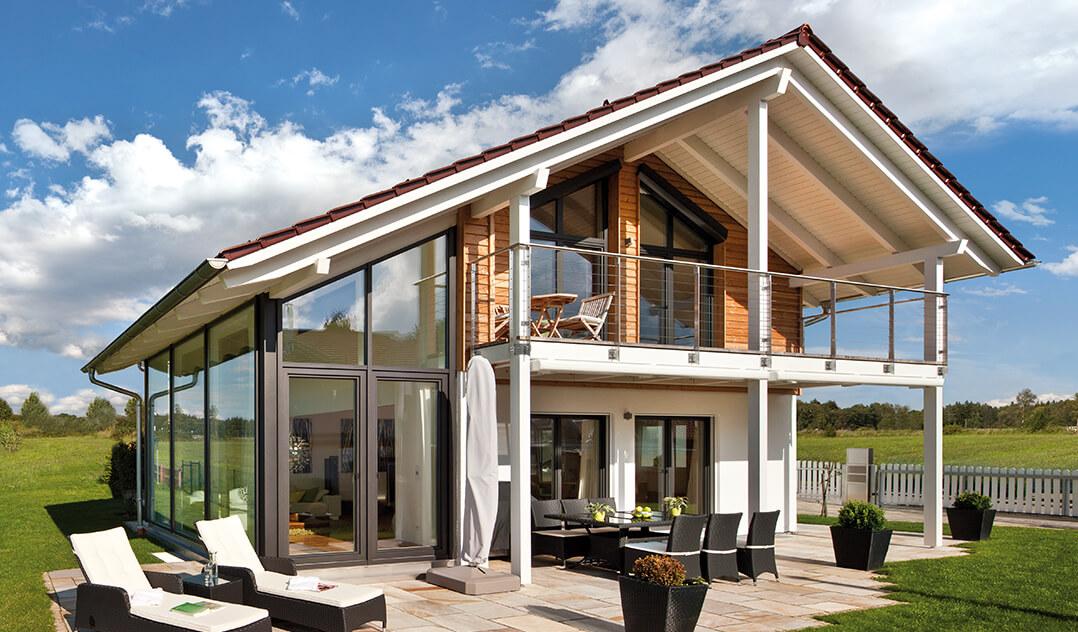 holzfertigbau hausbau und gewerbebau schl sselfertig bauen mit. Black Bedroom Furniture Sets. Home Design Ideas