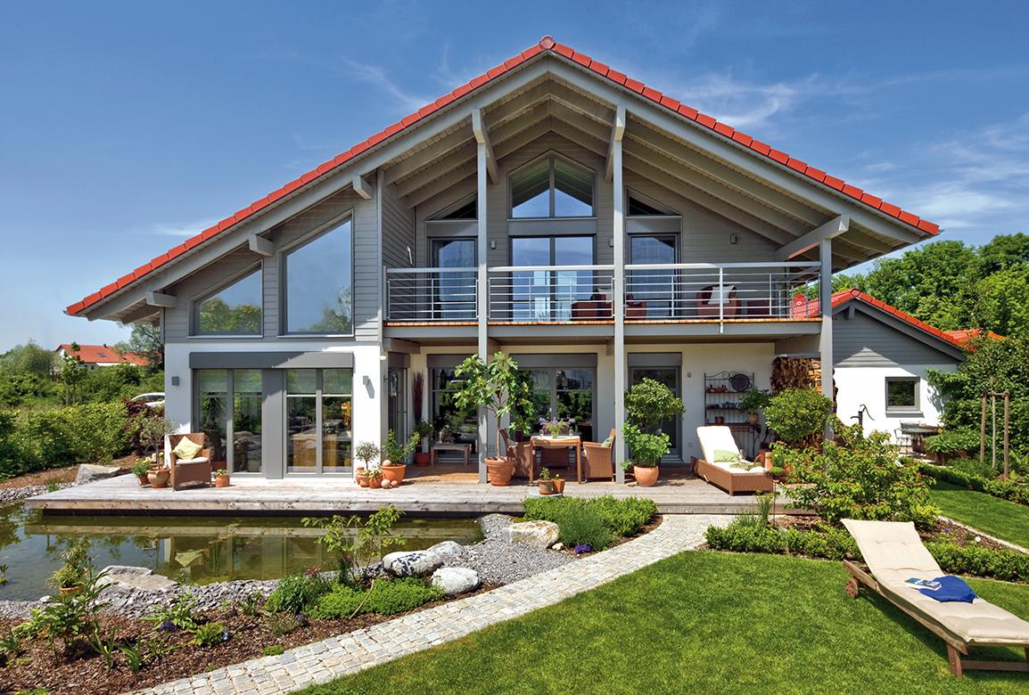 Regnauer vitalhaus landshut for Hausbau bilder